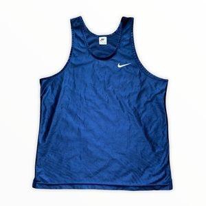 90's Navy/White Nike Tank Top